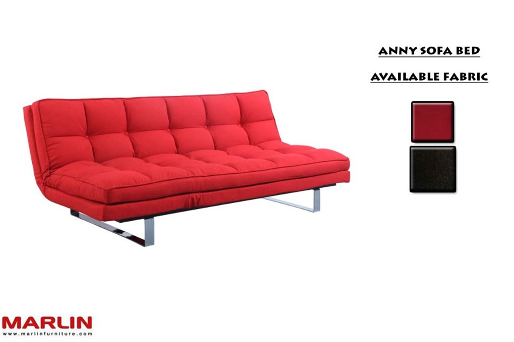 Brand marlin product name sofa product item code anny sofa bed finish