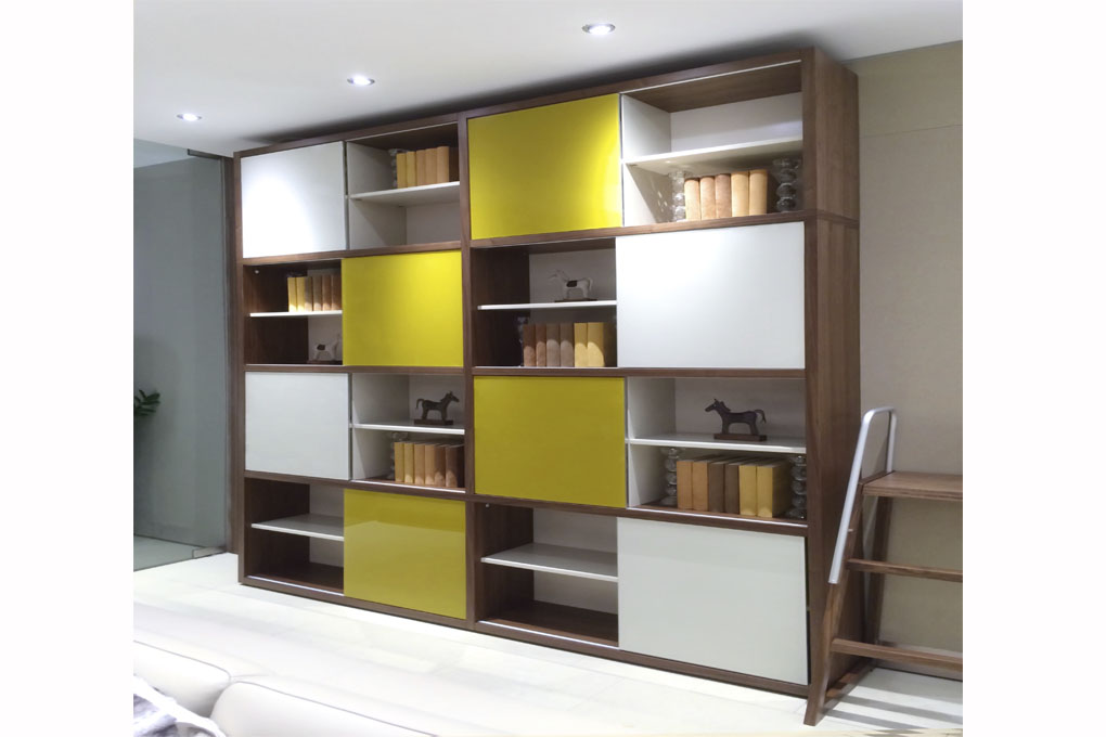 Marlin crystal bookcase Marlin home furniture dubai
